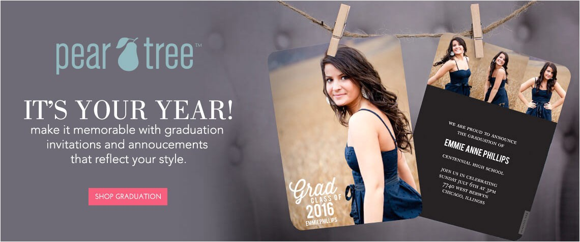 pear tree graduation collection