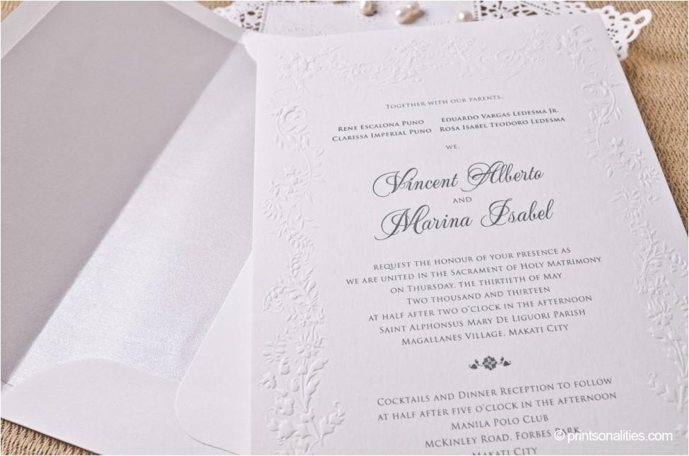 philippines wedding invitation 020633870