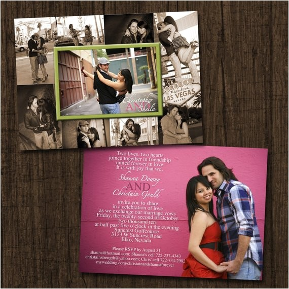 collage frame double sided wedding