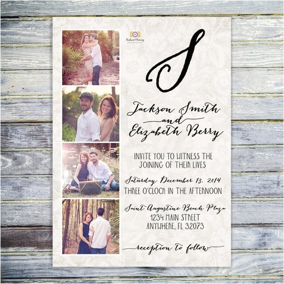 printable photo collage wedding