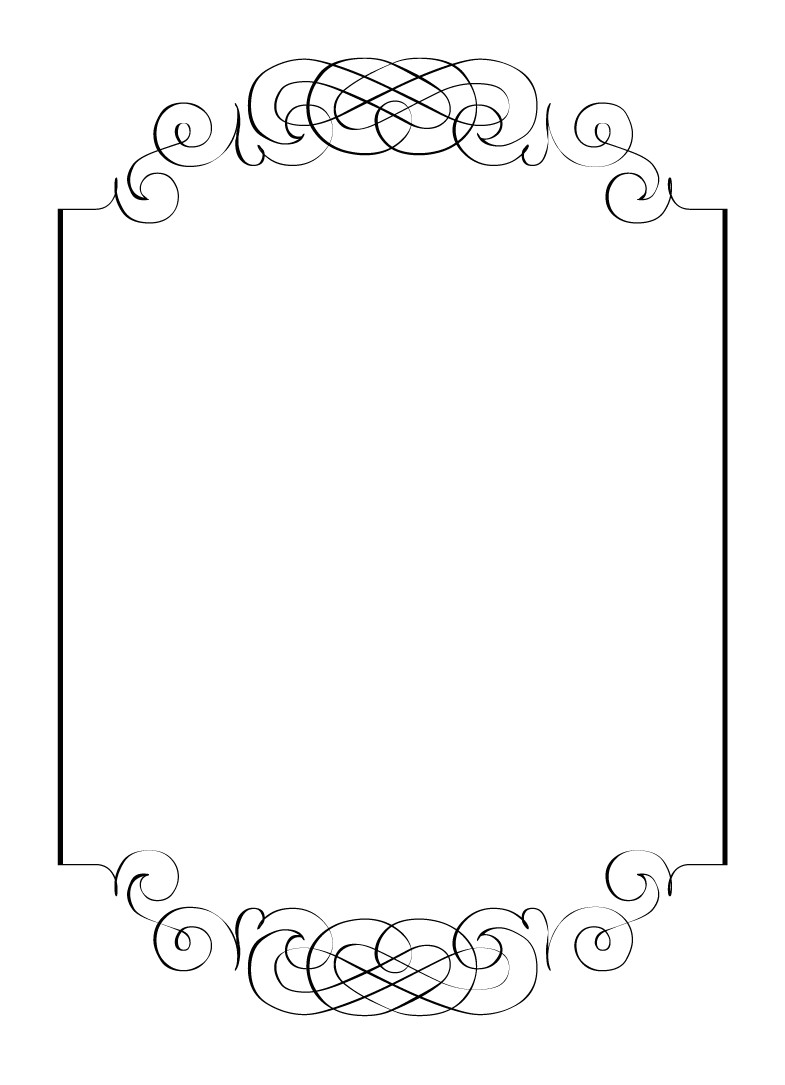 diy calligraphic frame wedding