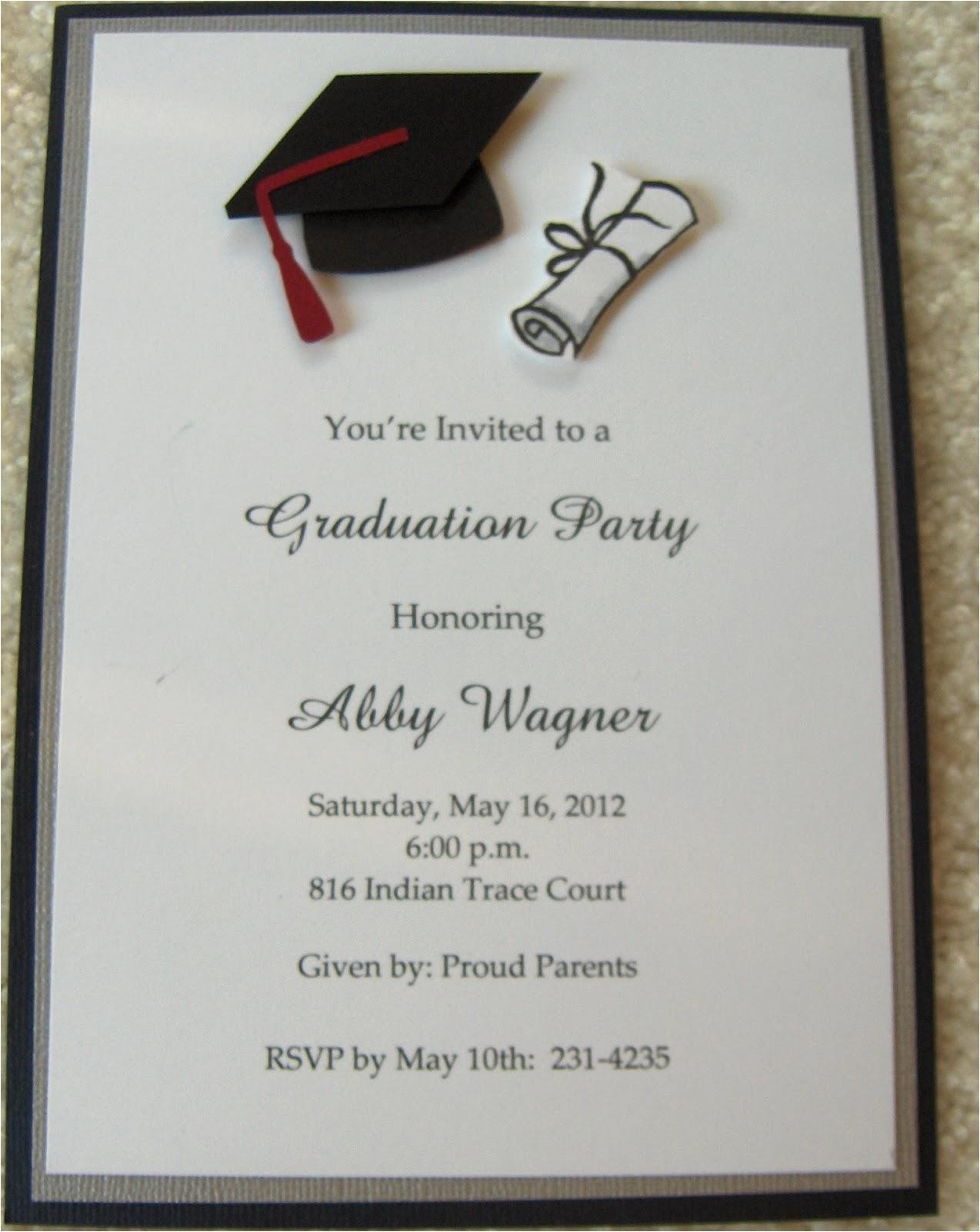 Pictures for Graduation Invitations College Graduation Party Invitations Party Invitations