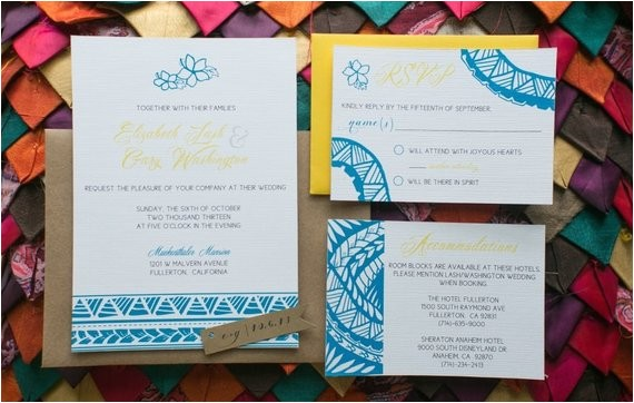 custom samoan inspired wedding