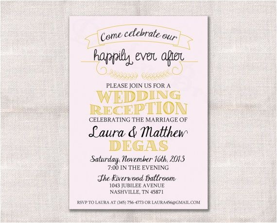post wedding reception invitation wording informal new post wedding reception invitation wording stephenanuno com