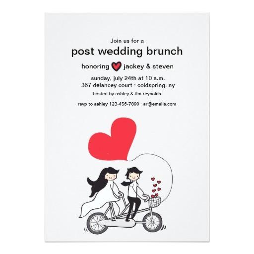 post wedding shower invitations wording