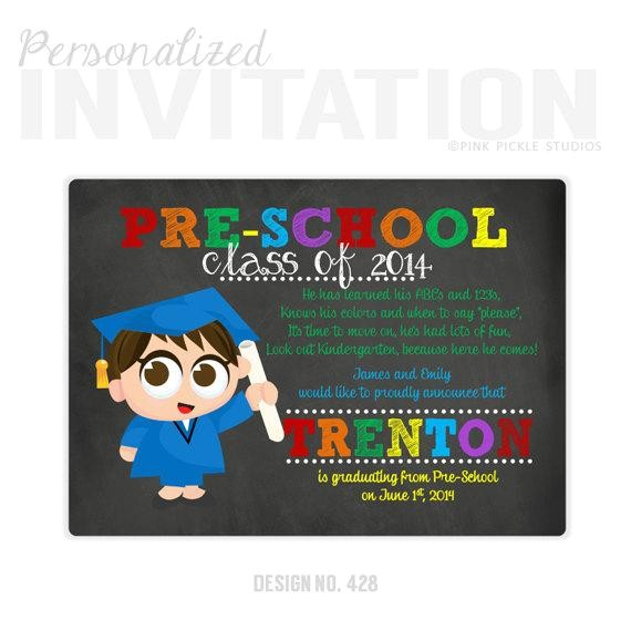 preschool graduation invitations pre