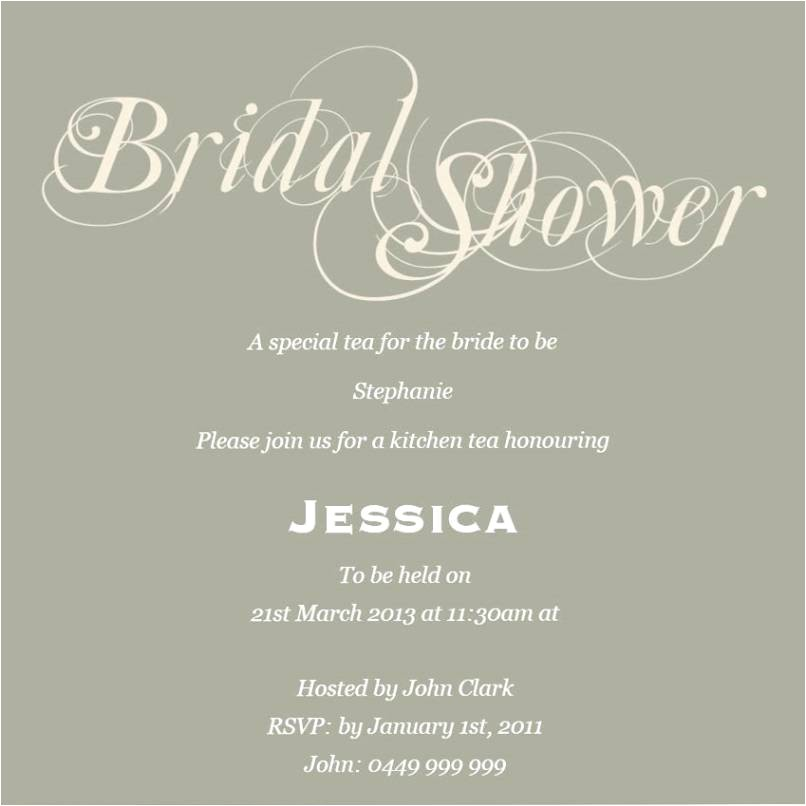 pre wedding party invitation wording