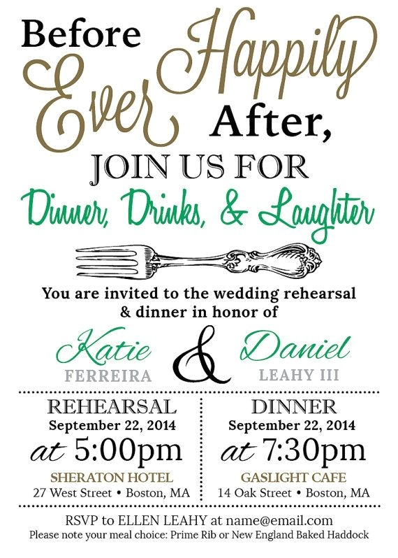 pre wedding party invitations
