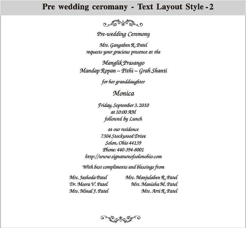 pre wedding invitation wording