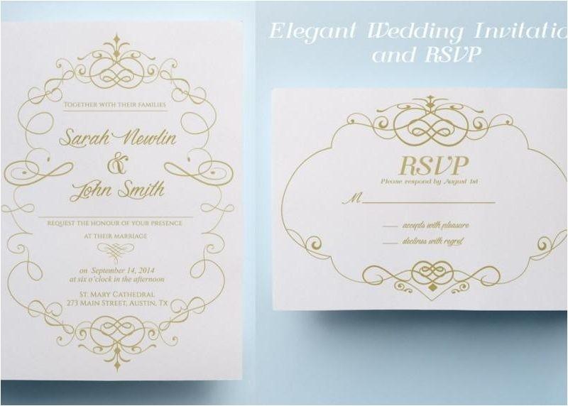 pre made wedding invitations 101130294