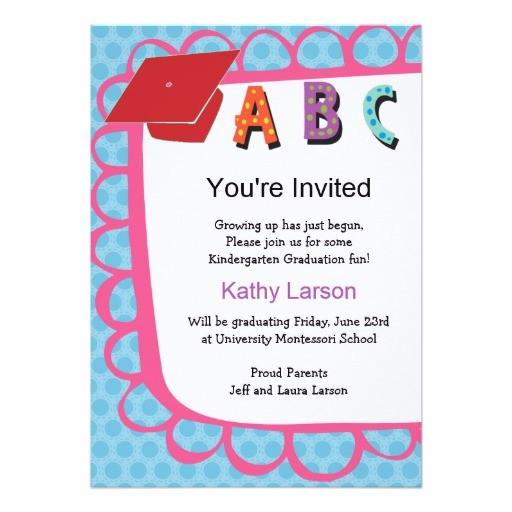 kindergarten graduation invitation 161218925078778658