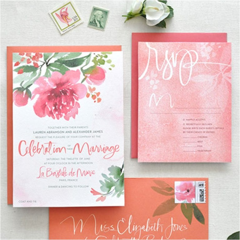 ways preserve wedding invitation