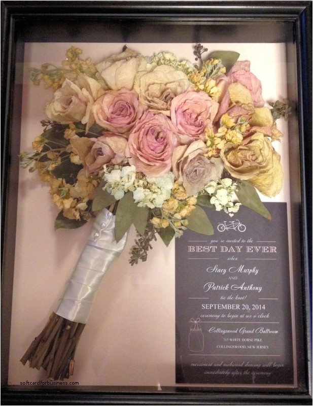 preserving wedding invitations