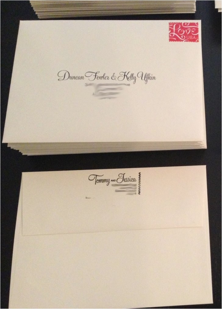 blank wedding address labels