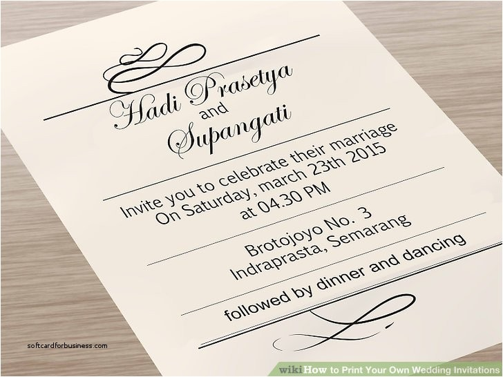how to print wedding invitation envelopes at home