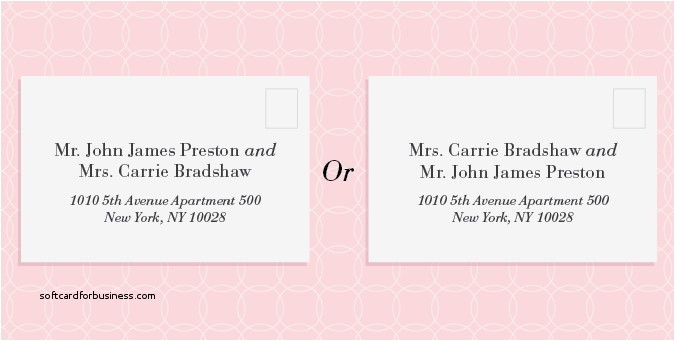 proper etiquette for addressing wedding invitations