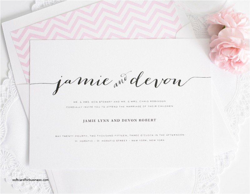 proper etiquette for addressing wedding invitations elegant wedding invitations with unique script names and a pink