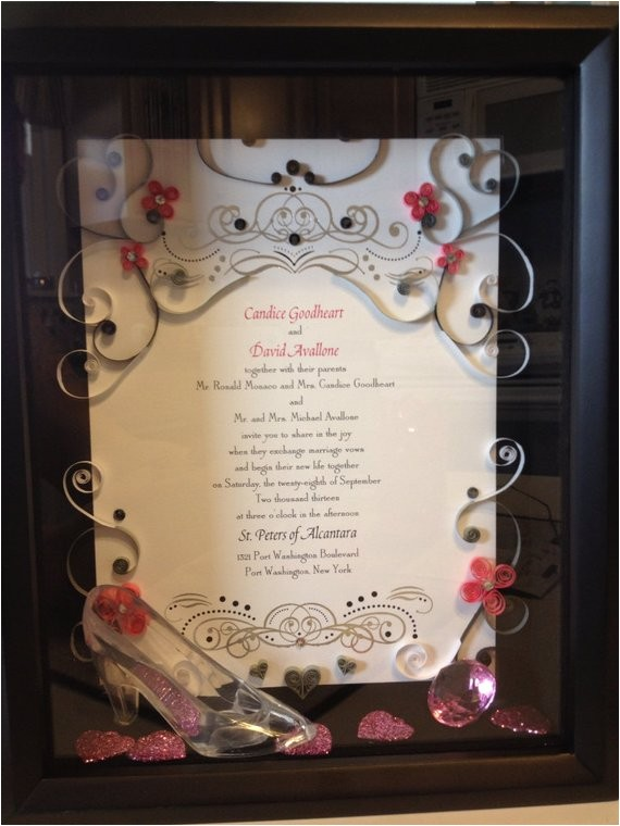 Quilled Wedding Invitation Keepsake Keepsake Quilled Wedding Invitation by Jgacreations On Etsy