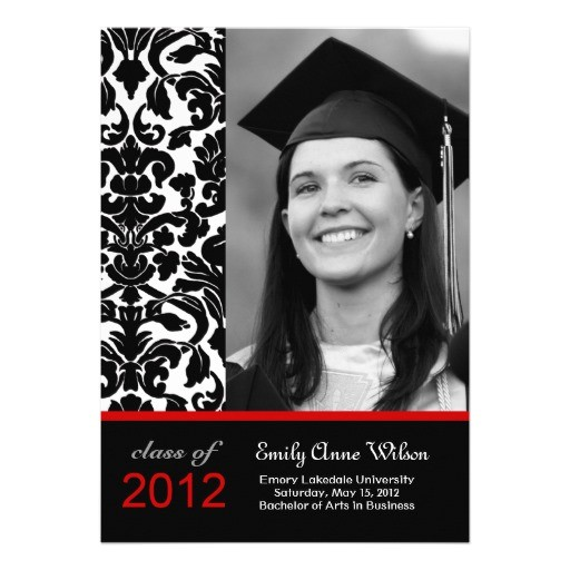 search q red and black graduation invitations form restab