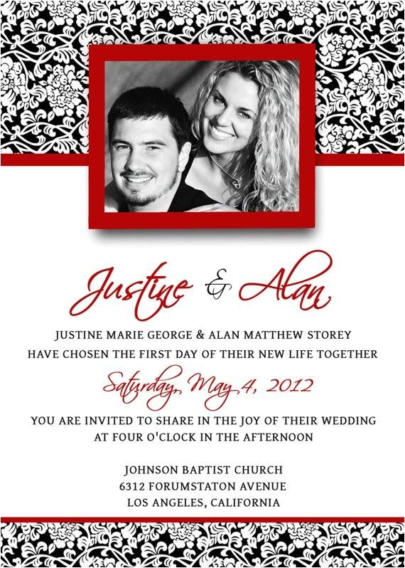 wedding invitation template kit layered