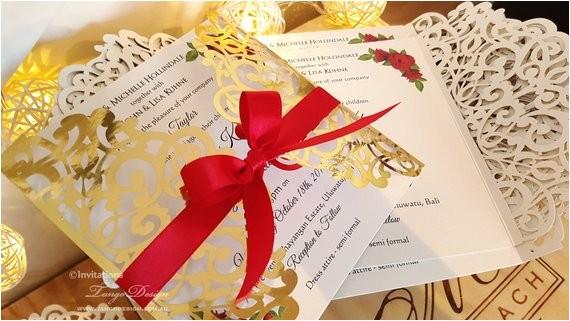 roses and gold foil wedding invitation ref listing published alert