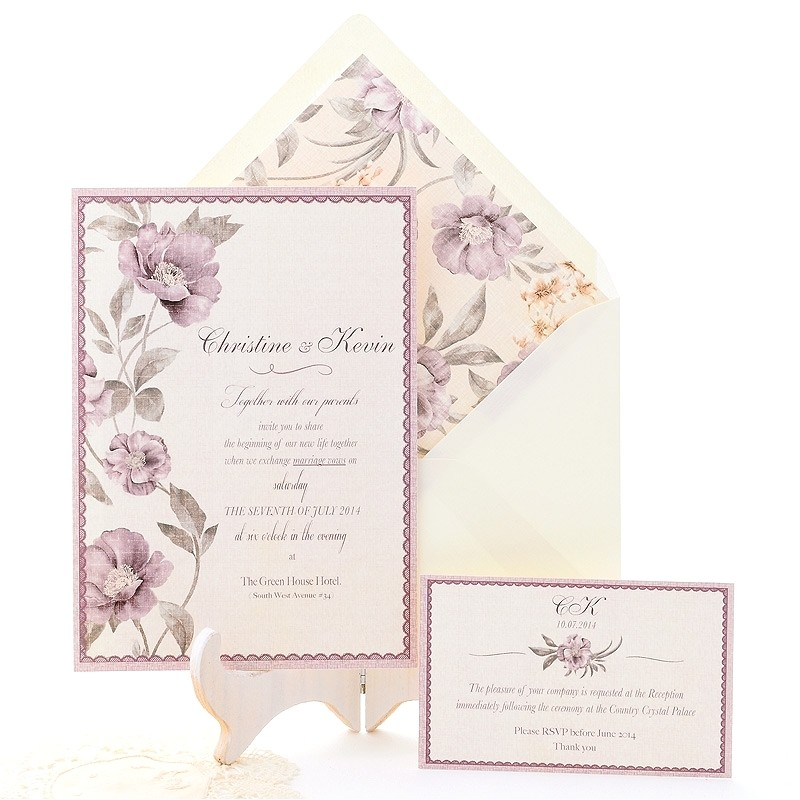 Romantic Wedding Invitations Wording Examples Wedding Invitation Wording Romantic Wedding Invitation Sample