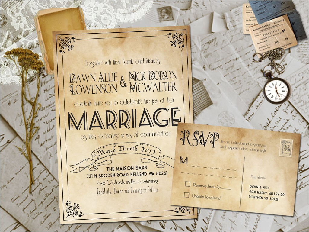 rustic wedding invitation templates