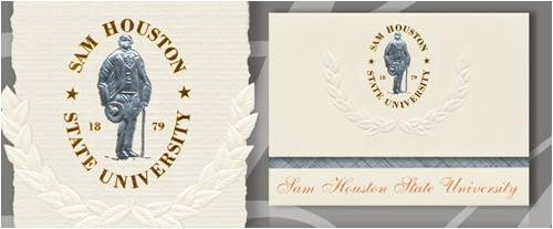 sam houston state university graduation announcements