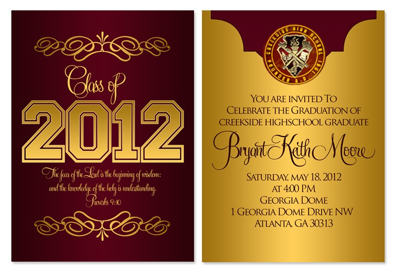 staples graduation invitations