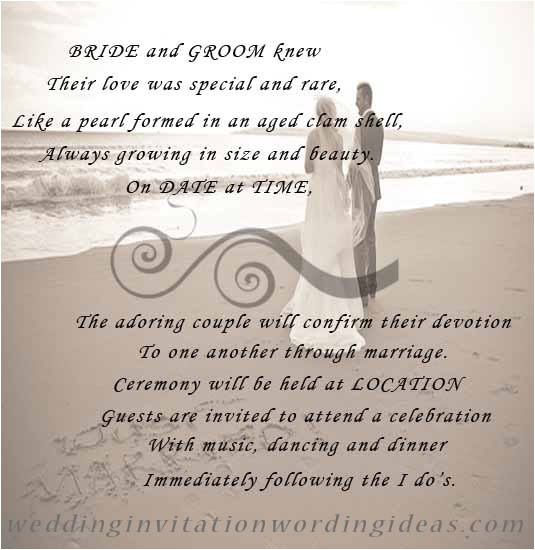 beachweddinginvitationwordings