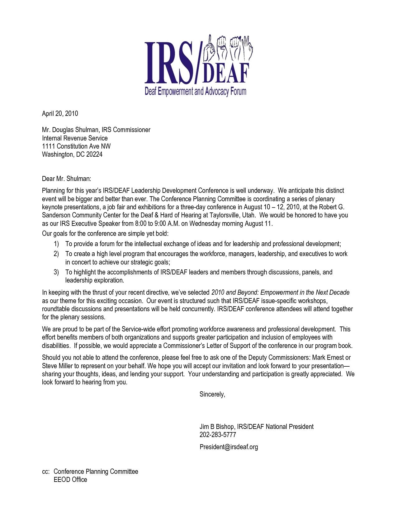 invitation letter guest speaker graduation ceremony