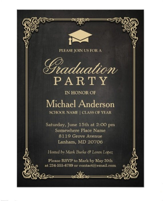 invitation card example