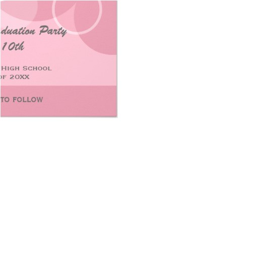 pink photo graduation party save the date invitation 161667215545611099