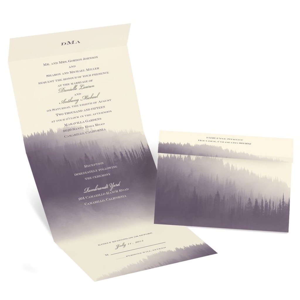 send and seal wedding invitations templates