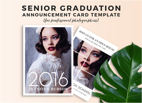free graduation announcement templates for photoshop