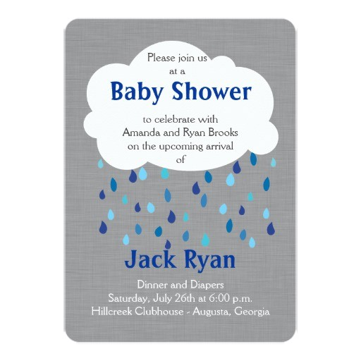 showered with love baby boy shower invitation 161315963308166081