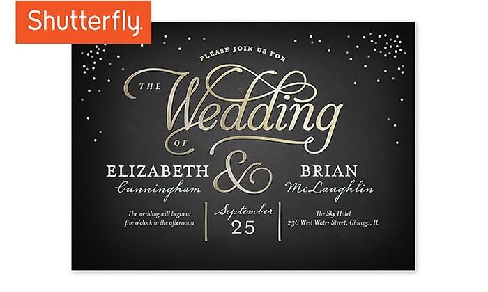 Shutterfly Wedding Invites Wedding Invitations Shutterfly Groupon