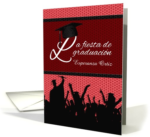 spanish graduation party invitation graduacin celebracin 794321