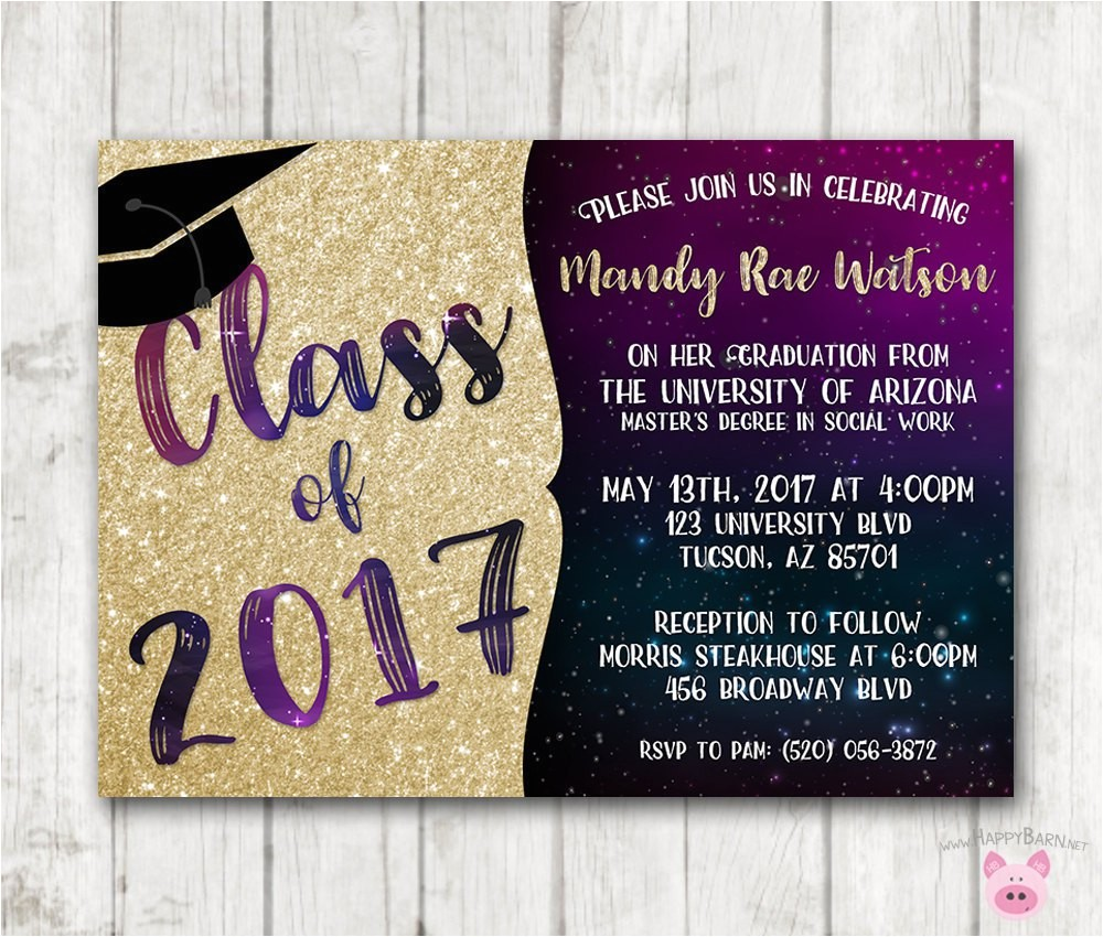 printable graduation invitations galaxy graduation invites