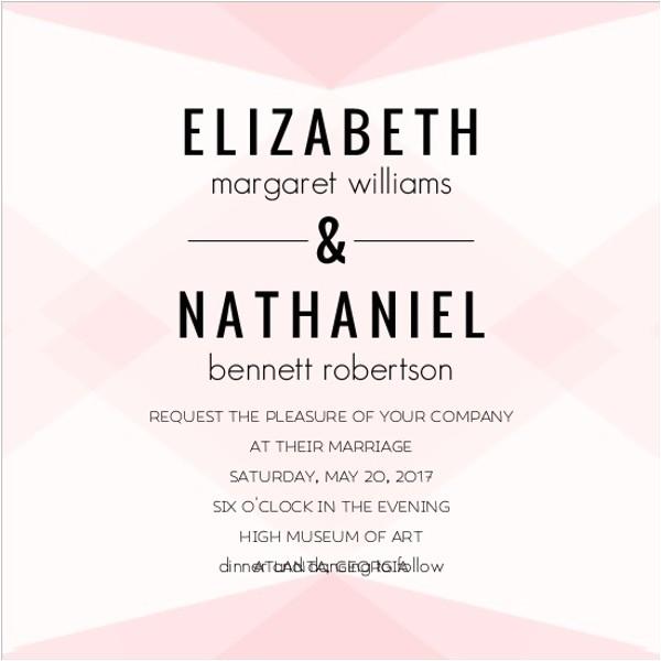 unique wedding invitation wording ideas