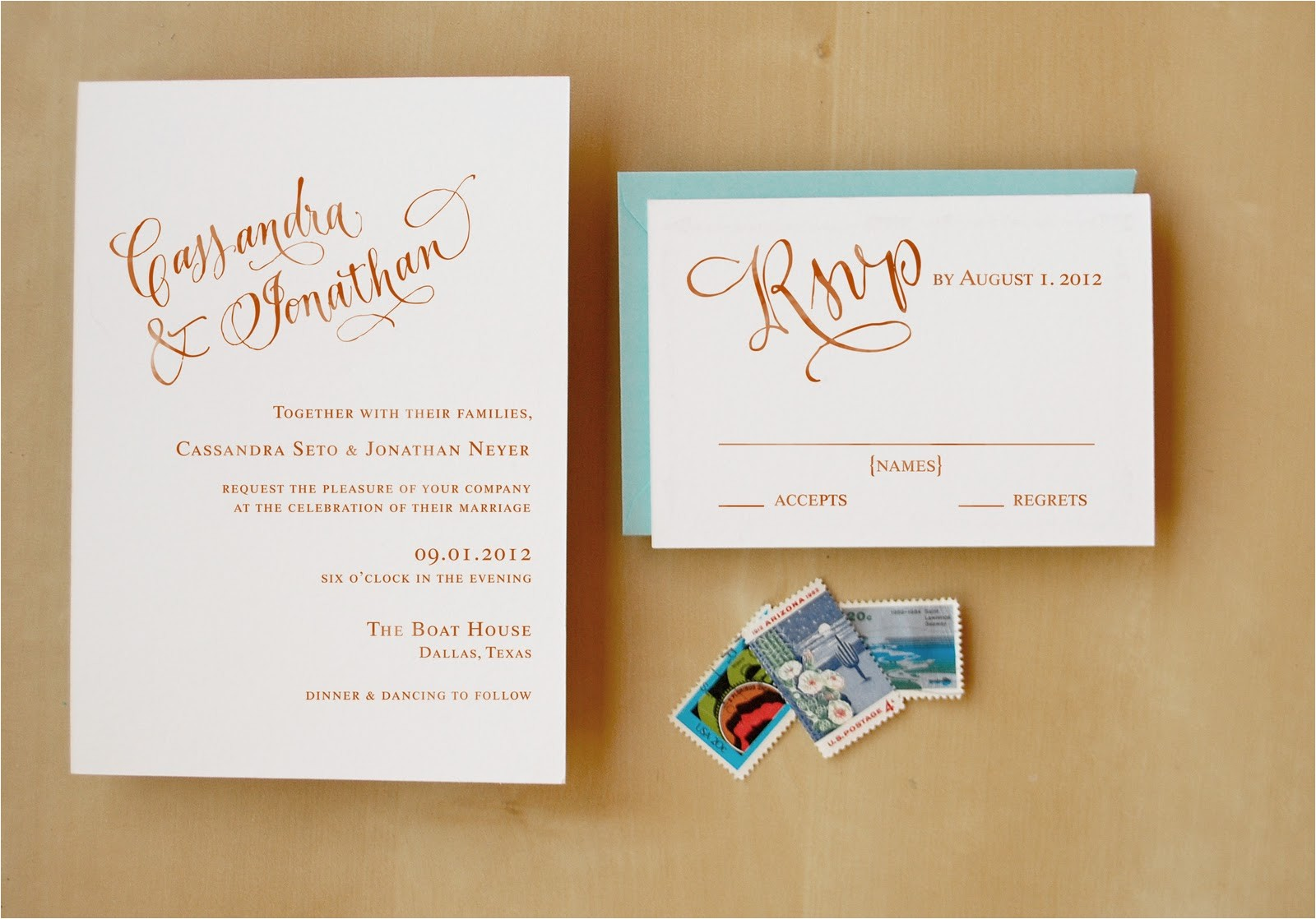 introducing wedding invitation stamps