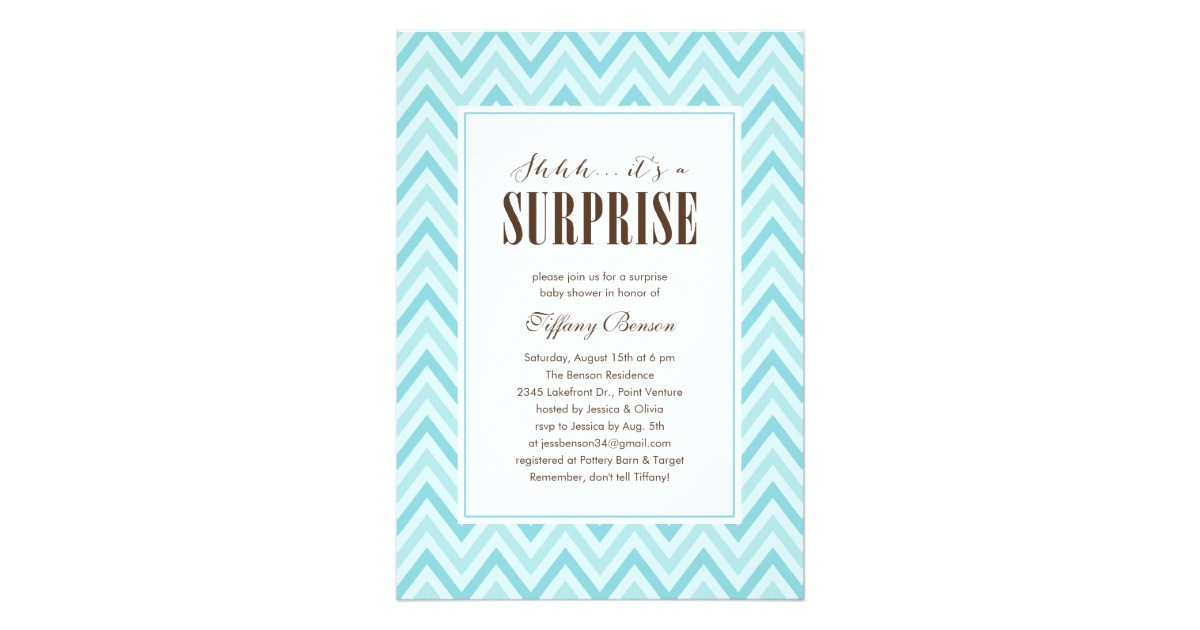 surprise baby shower invitations 161709776516850700