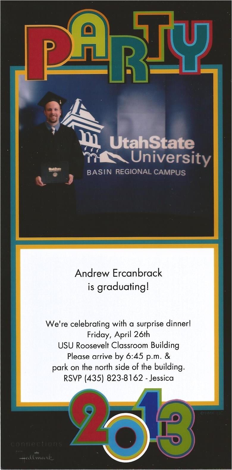 surprise graduation dinner