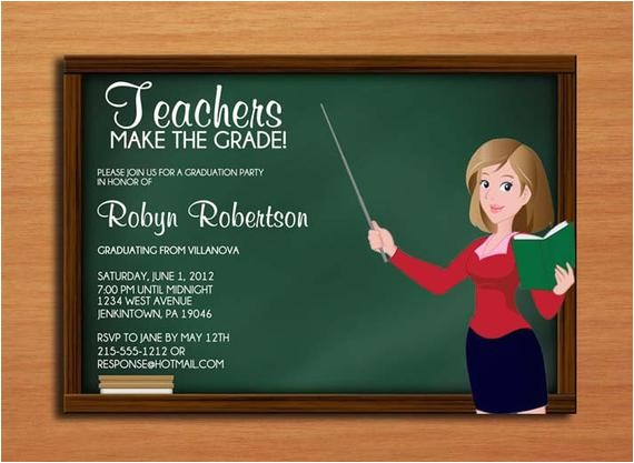 teacher education degree graduation