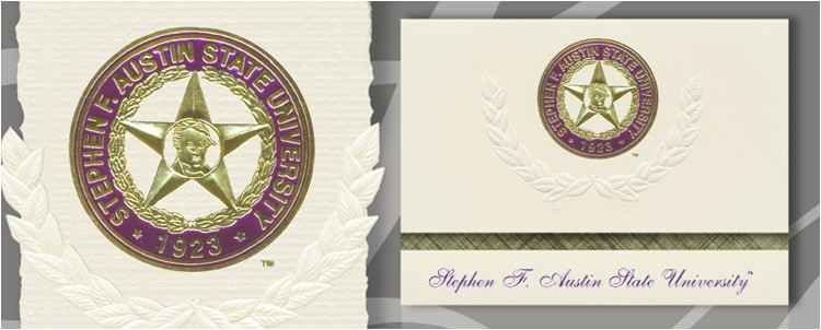 stephen f austin state university graduation announcements