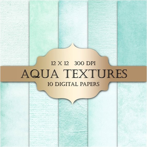 aqua digital paper textured digital