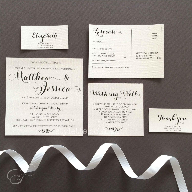 square wedding invitation rustic white textured paper custom made matching envelope handmade
