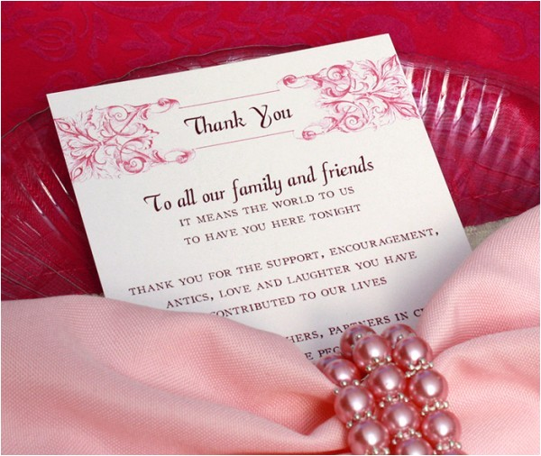 thanking summer wedding guests