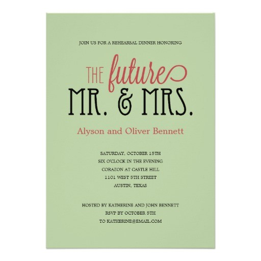 wedding invitation wording mr and mrs