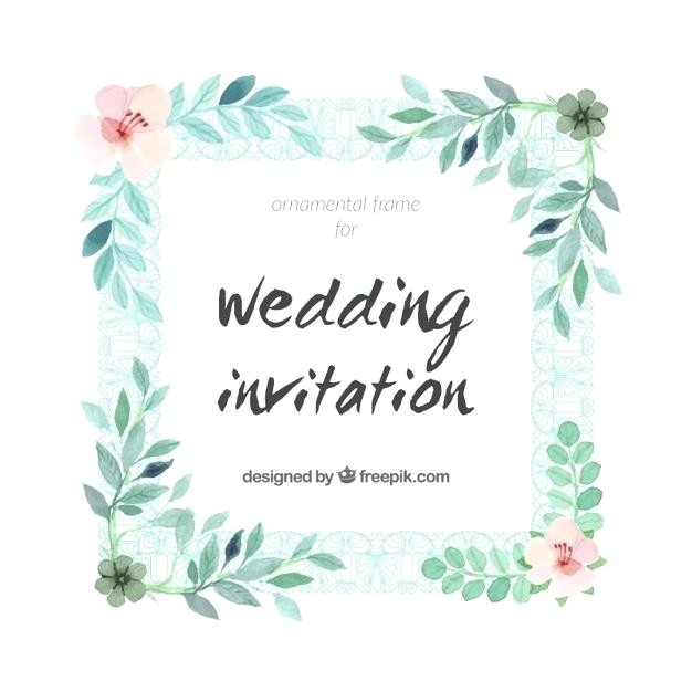 frame wedding invitation